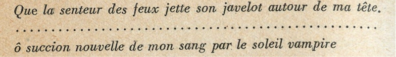 from *Lettres françaises* N°16
